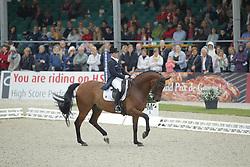 Werth, Isabell (GER), Don Johnson FRH<br /> Hagen - CDIO Nationenpreis Dressur 2015<br /> CDIO, Kür, Freestyle<br /> © www.sportfotos-lafrentz.de/Stefan Lafrentz
