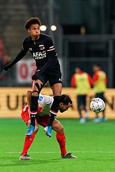 23-11-2019 NED: FC Utrecht - AZ Alkmaar, Utrecht<br /> Round 14 / Calvin Stengs #7 of AZ Alkmaar, Mark van der Maarel #2 of FC Utrecht