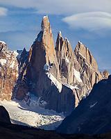 MACIZO DEL CERRO TORRE (3.130 m.s.n.m.), PARQUE NACIONAL LOS GLACIARES, PROVINCIA DE SANTA CRUZ, PATAGONIA, ARGENTINA (PHOTO © MARCO GUOLI - ALL RIGHTS RESERVED)