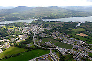 An aerial view of Kenmare in County Kerry.<br /> Picture by Don MacMonagle
