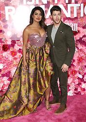 Isn't It Romantic Premiere - Los Angeles. 11 Feb 2019 Pictured: Priyanka Chopra, Nick Jonas. Photo credit: Jaxon / MEGA TheMegaAgency.com +1 888 505 6342