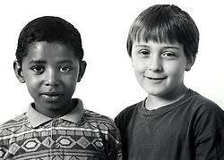 Two boys UK 1990s
