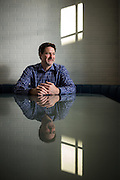 Magento CEO Mark Lavelle poses for a portrait at Magento in Campbell, California, on January 26, 2017. (Stan Olszewski for Silicon Valley Business Journal)