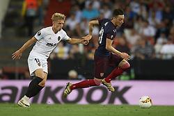 May 9, 2019 - Valencia, Spain - Mesut Ozil of Asenal during the UEFA Europa League Semi Final Second Leg match between Valencia and Arsenal at Estadio Mestalla on May 9, 2019 in Valencia, Spain. (Credit Image: © Jose Breton/NurPhoto via ZUMA Press)