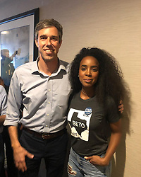 """Kelly Rowland releases a photo on Instagram with the following caption: """"I\u2019M WITH BETO!! Come on TEXAS!!!"""". Photo Credit: Instagram *** No USA Distribution *** For Editorial Use Only *** Not to be Published in Books or Photo Books ***  Please note: Fees charged by the agency are for the agency's services only, and do not, nor are they intended to, convey to the user any ownership of Copyright or License in the material. The agency does not claim any ownership including but not limited to Copyright or License in the attached material. By publishing this material you expressly agree to indemnify and to hold the agency and its directors, shareholders and employees harmless from any loss, claims, damages, demands, expenses (including legal fees), or any causes of action or allegation against the agency arising out of or connected in any way with publication of the material."""