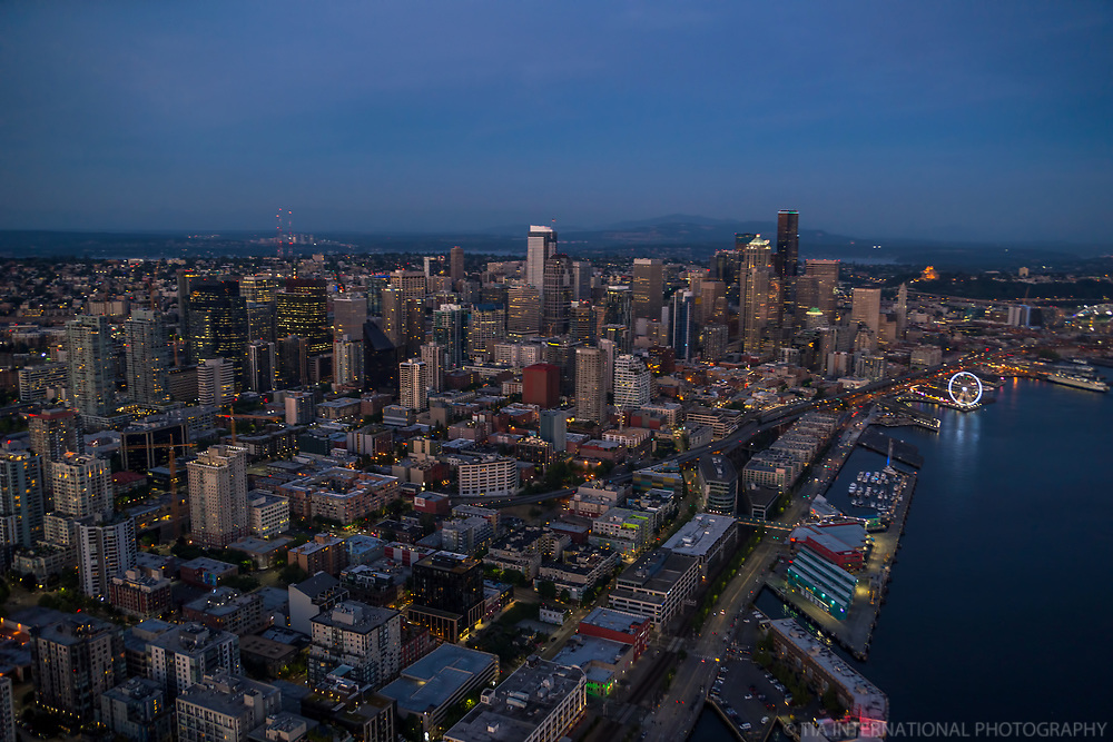 Belltown (foreground) & Seattle Waterfront