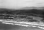 Ackroyd_02782-40. Delake, Oregon. Now part of Lincoln City. April 5, 1951
