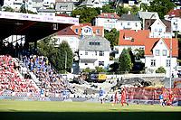 Fotball , 1. juli 2018 , Eliteserien ,  Brann - Molde<br /> illustrasjon , bygging av ny tribune på Brann stadion