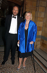 The HON.DAVID MACMILLAN and COUNTESS MANFREDIE DELLA GHERARDESCA at a gala dinner in the presence of HM Quenn Silvia of Sweden and HM Queen Noor of Jordan in aid of the charity Mentor held at the Natural History Museum, Cromwell Road, London on 23rd May 2006.<br /><br />NON EXCLUSIVE - WORLD RIGHTS