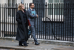 © Licensed to London News Pictures. 29/11/2017. London, UK. Secretary of State for International Development Penny Mordaunt on Downing Street. Photo credit: Rob Pinney/LNP