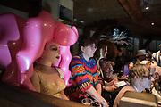 SASHA FROLOVA, JARVIS COCKER, Andrew Logan's Alternative Miss World, The Globe Theatre,  21 October 2018