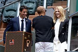 Tony Estanguet, Nicole Kidman - French Tennis International of Roland Garros 2017 -.©Exclusivepix Media (Credit Image: © Exclusivepix media via ZUMA Press)