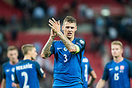 Slovakia (3) Martin SKRTEL after the FIFA World Cup Qualifier match between England and Slovakia at Wembley Stadium, London, England on 4 September 2017. Photo by Sebastian Frej.
