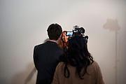 Susan Philipsz , Turner Prize 2010. Tate Britain. Millbank. London. 6 December 2010. -DO NOT ARCHIVE-© Copyright Photograph by Dafydd Jones. 248 Clapham Rd. London SW9 0PZ. Tel 0207 820 0771. www.dafjones.com.