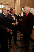Lord Healey, Terry Wogan and Richard Ingrams.  The Oldie Of The Year Awards,  Simpsons in the Strand, London. 22 March 2005. ONE TIME USE ONLY - DO NOT ARCHIVE  © Copyright Photograph by Dafydd Jones 66 Stockwell Park Rd. London SW9 0DA Tel 020 7733 0108 www.dafjones.com