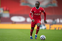 Football - 2020 / 2021 Premier League - Liverpool vs Fulham - Anfield<br /> <br /> Liverpool FC's Sadio Mané in action during todays match  <br /> <br /> CreditCOLORSPORT/TERRY DONNELLY