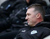 Photo: Steve Bond/Richard Lane Photography. Leicester City v Leyton Orient. Coca Cola League One. 10/01/2009. Nigel Pearson looks relaxed