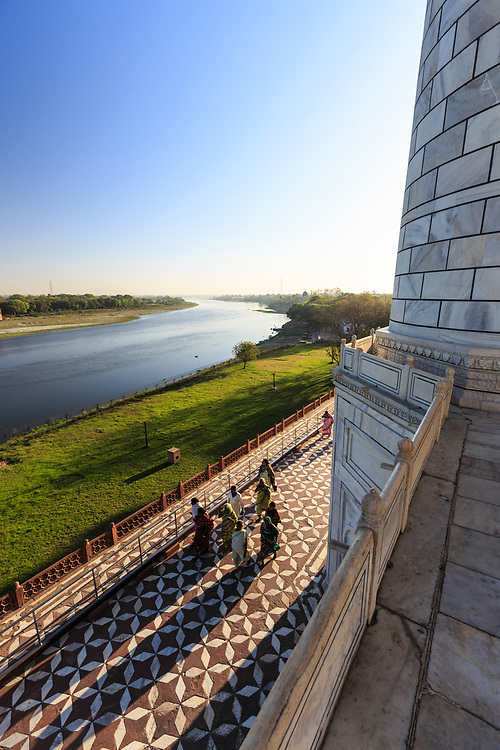The Yamuna river seen from Taj Mahal, India. The Yamuna River holds a special place in the hearts of the Hindus of India. The river finds mention in several ancient Hindu texts like the Rigveda, Atharvaveda, and the Bhrahmanas.