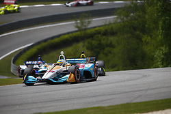 April 23, 2018 - Birmingham, Alabama, United States of America - GABBY CHAVES (88) of Colombia battles for position through the turns during the Honda Grand Prix of Alabama at Barber Motorsports Park in Birmingham, Alabama. (Credit Image: © Justin R. Noe Asp Inc/ASP via ZUMA Wire)