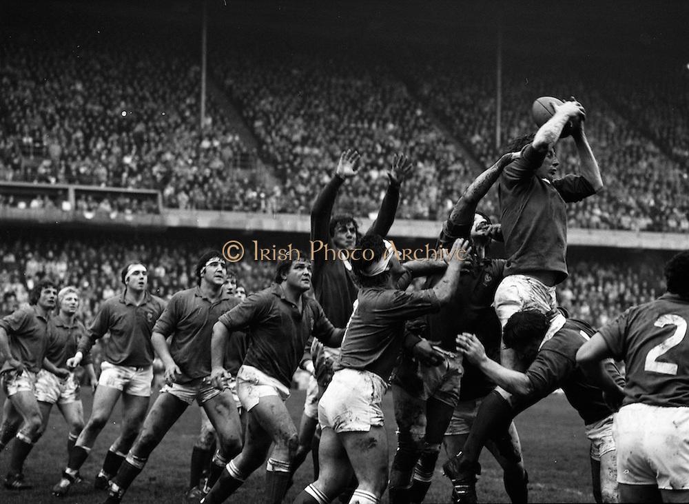 19/03/1977<br /> 03/19/1977<br /> 19th March 1977 Rugby International: Ireland v France, Landsdowne Road, Dublin. France won the game 15-6.