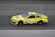 in a NASCAR Sprint Cup series auto race, Saturday, May 10, 2014, at Kansas Speedway in Kansas City, Kan. (AP Photo/Colin E. Braley)