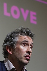 "© Licensed to London News Pictures . FILE PICTURE DATED 22/04/2013 . Cornerhouse Cinema , Oxford Road , Manchester , UK . STEVE COOGAN during a Q&A session following a preview screening of new film "" The Look of Love "" in Manchester , UK , this evening (Monday 22nd April 2013) . Coogan damaged the nail on his thumb following an accident when closing a window , he said . He plays the lead as club impresario Paul Raymond. Photo credit : LNP"