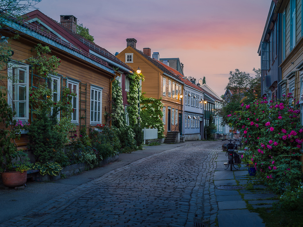 Trondheim, Norway. July 2021.