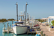 Port at Spanish Wells, St Georges Cay, Eleuthera, The Bahamas.