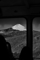 View of Mt Fuji from the Gondola to Mt Komagatake. Fuji Hakone Izy National Park. Image taken with a  Fuji X-T1 camera and 35 mm f/1.4 lens.
