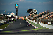 March 3, 2017: Circuit de Catalunya.  Romain Grosjean (FRA), Haas F1 Team, VF17