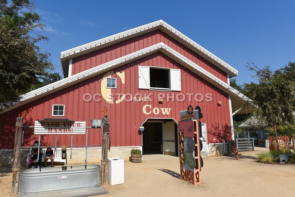 Crean Family Farms Barn at the Santa Ana Zoo at Prentice Park