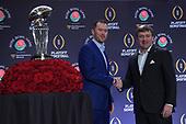 Dec 31, 2017-NCAA Football-Rose Bowl Head Coaches Press Conference