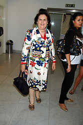 SUZY MENKES at a reception hosted by Vogue magazine to launch photographer Tim Walker's book 'Pictures' sponsored by Nude, held at The Design Museum, Shad Thames, London SE1 on 8th May 2008.<br /><br />NON EXCLUSIVE - WORLD RIGHTS