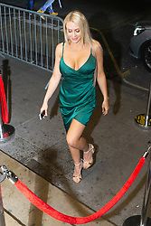Former Playboy model Hayley Bray is photographed out and about In London as she heads to Studio 61 Cocktail Bar at Sway in Holborn. LONDON, December 28 2018.