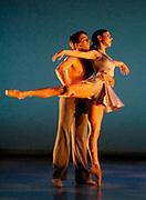 GASTON DE CARDENAS\EL NUEVO HERALD -- Patricia Delgado, and Alexandre Dufaur in Distance. Part of the Our Show 2007.