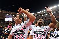 Waisale NAYACALEVU / Julien ARIAS  - 13.06.2015 - Clermont / Stade Francais - Finale Top 14<br />Photo : Nolwenn Le Gouic / Icon Sport