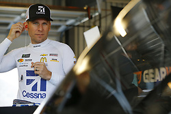 November 10, 2018 - Avondale, Arizona, U.S. - Jamie McMurray (1) hangs out in the garage during practice for the Can-Am 500(k) at ISM Raceway in Avondale, Arizona. (Credit Image: © Chris Owens Asp Inc/ASP)