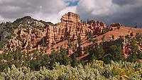 Red Canyon, Utah. Image taken with a Nikon D200 camera and 18-70 mm kit lens.