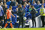 Marco Silva Manager of Everton during the EFL Cup match between Sheffield Wednesday and Everton at Hillsborough, Sheffield, England on 24 September 2019.