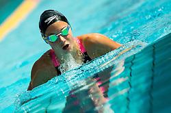 Neza Klancar of PK Olimpija Ljubljana competes in 200m Breaststroke during Slovenian Swimming National Championship 2014, on August 3, 2014 in Ravne na Koroskem, Slovenia. Photo by Vid Ponikvar / Sportida.com