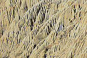'The Sandcastle' Badlands along Diefenbaker Lake<br /> Near Beechy<br /> Saskatchewan<br /> Canada