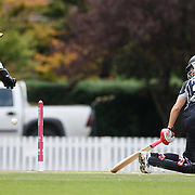 New Zealand wicket keeper Rachel Priest stumps South African batter Shabnim Ismail off the bowling of Aimee Mason  during the South Africa  V New Zealand group A match at Bradman Oval in the ICC Women's World Cup Cricket Tournament, in Bowral, Australia on March 12, 2009. New Zealand won by 199 runs. Photo Tim Clayton
