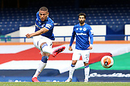 Everton forward Richarlison (7) shoots at goal during the Premier League match between Everton and Bournemouth at Goodison Park, Liverpool, England on 26 July 2020.