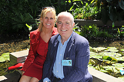 RICK STEIN and SARAH BURNS at the 2011 RHS Chelsea Flower Show VIP & Press Day at the Royal Hospital Chelsea, London, on 23rd May 2011.