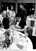 Jay Jopling and   Annabel Neilson. Vanity Fair party, Serpentine Ô95. Serpentine Gallery, London. 6/28/95. © Copyright Photograph by Dafydd Jones 66 Stockwell Park Rd. London SW9 0DA Tel 020 7733 0108 www.dafjones.com