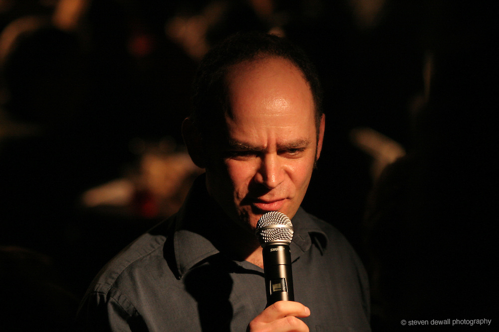 Todd Barry performs at the Showbox in Seattle, WA.