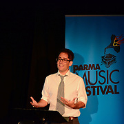 Elliot Sneider speaks at the 2013 PARMA Music Festival in Portsmouth, NH. August 17, 2013
