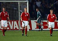 Fotball<br /> Kvalifisering til EM 2004<br /> 11.10.2003<br /> Bosnia v Danmark 1-1<br /> Norway Only<br /> Foto: Digitalsport<br /> <br /> Thomas Sørensen i baggrunden