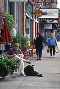 Image of downtown Snohomish, Washington, Pacific Northwest by Randy Wells