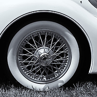"""""""1955 Jaguar"""" mono<br /> <br /> A pure black and white version of this beautiful 1955 Jaguar!!<br /> <br /> Cars and their Details by Rachel Cohen"""